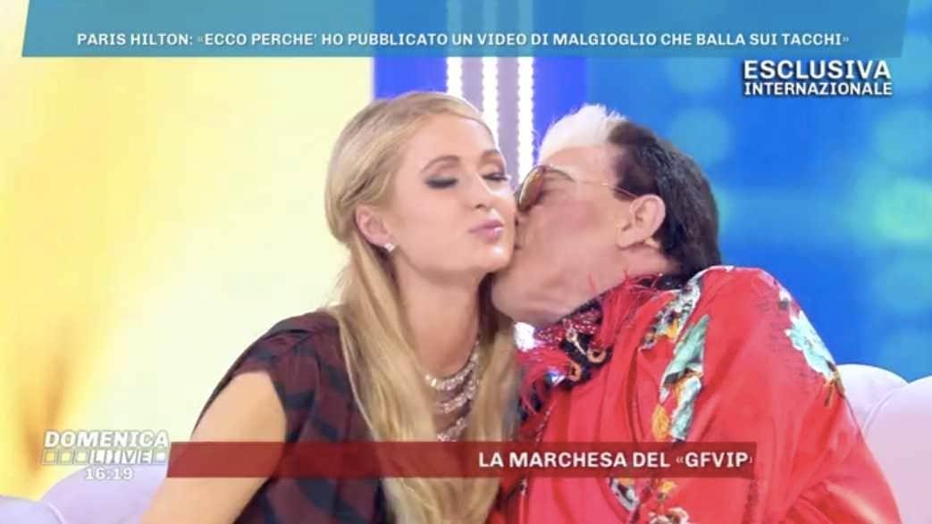 Paris Hilton Cristiano Malgioglio