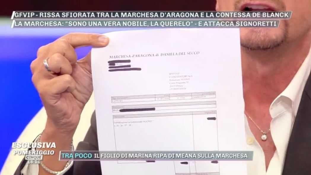 Riccardo Signoretti Fattura Marchesa Del Secco