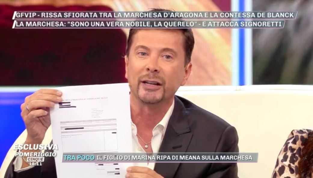 Riccardo Signoretti Fattura