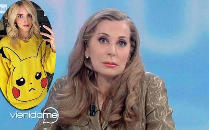 Rosanna Cancellieri Chiara Ferragni Vieni Da Me