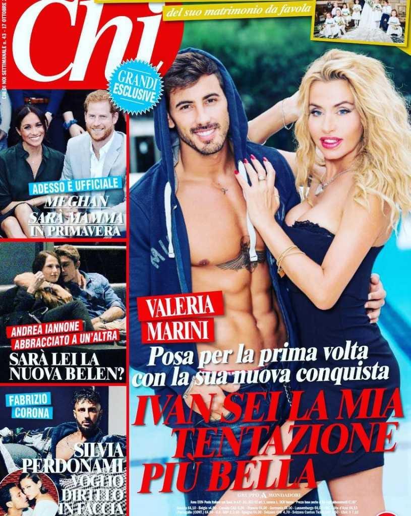 Valeria Marini e Ivan Gonzalez Chi