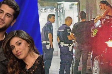 belen rodriguez jeremias fermati polizia diva donna