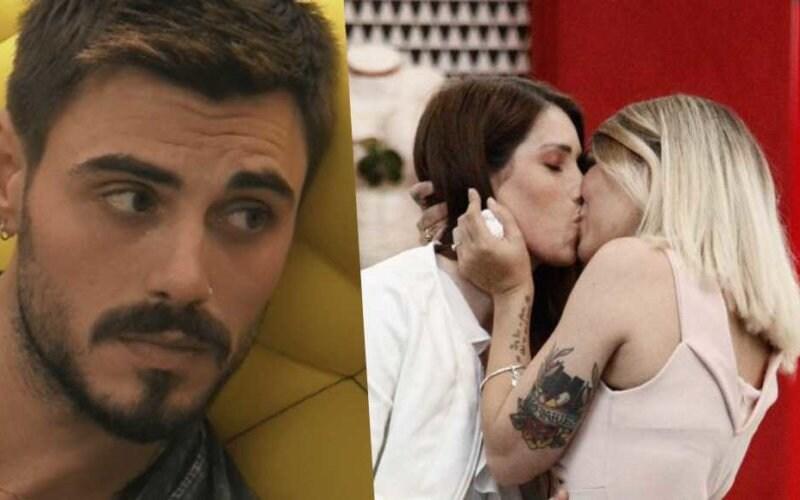 francesco monte lesbiche gay baci donne