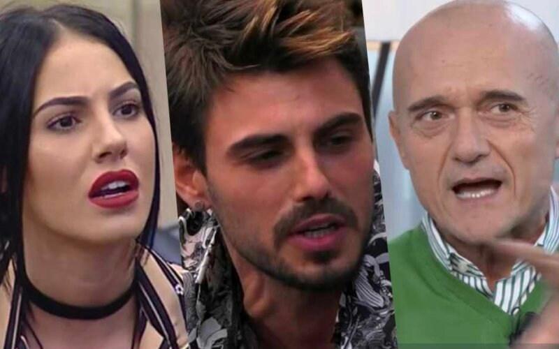 francesco monte omofobia alfonso signorini giulia de lellis