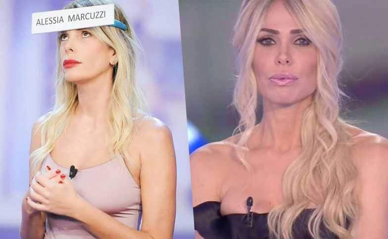 Alessia Marcuzzi Ilary Blasi Isola dei Famosi Grande Fratello Vip