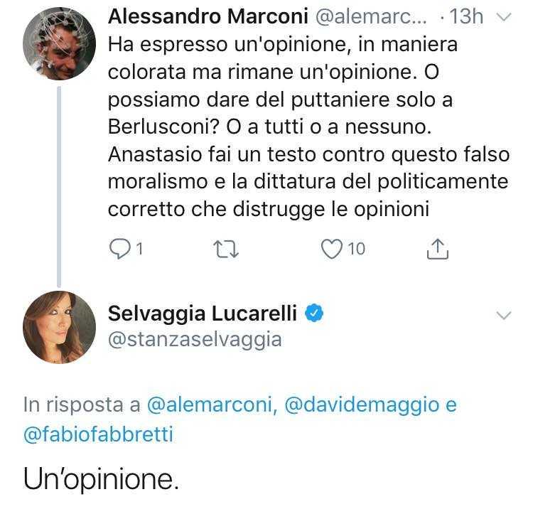 Anastasio Selvaggia Lucarelli 3