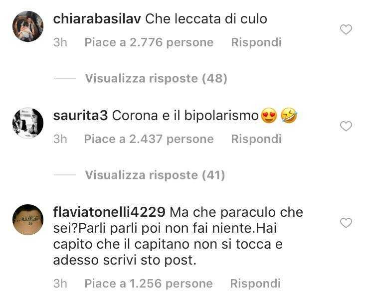 Corona dopo aver minacciato Totti fa un passo indietro e gli chiede scusa, ma interviene anche Nina Moric 2