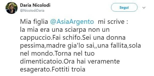 Daria Nicolodi Mamma Asia Argento (1)