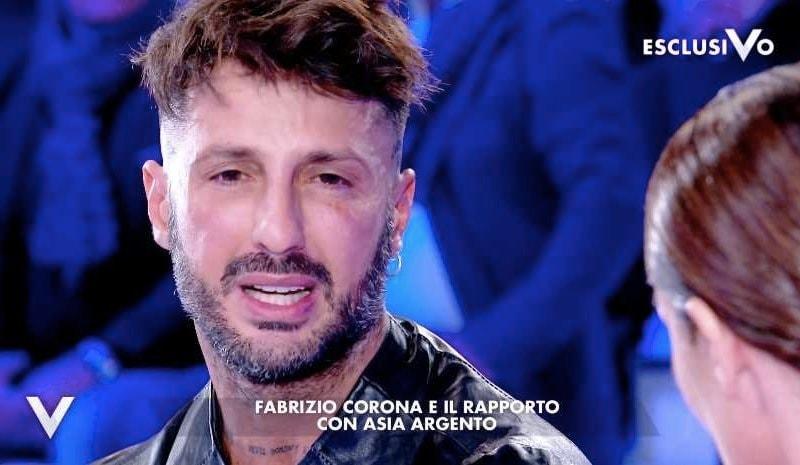 Fabrizio Corona Verissimo