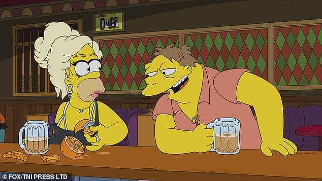 Homer Simpson Drag Queen Werking Mum (2)