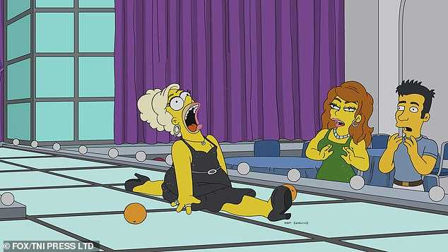 Homer Simpson Drag Queen Werking Mum (3)