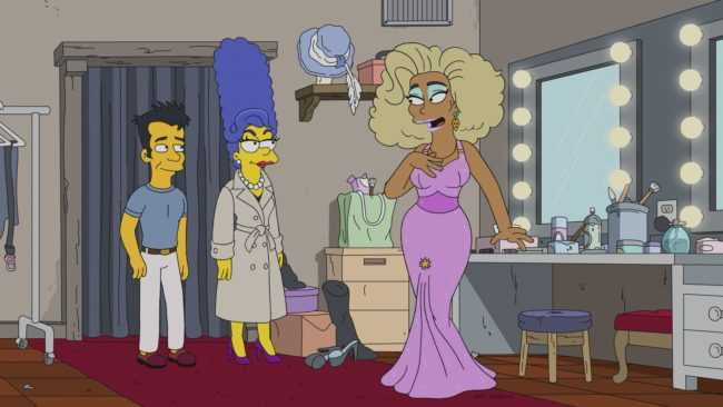 Homer Simpson Drag Queen Werking Mum (4)