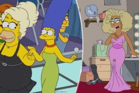 Homer Simpson RuPaul