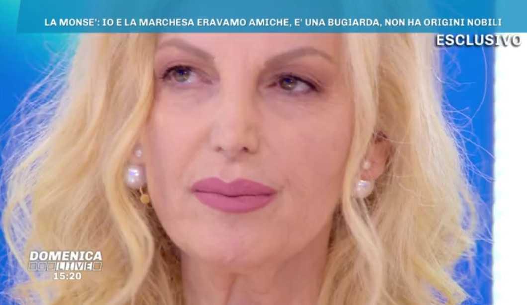Marchesa d'Aragona Domenica Live
