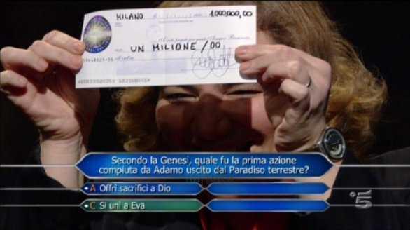 Michela De Paoli Chi vuole esser milionario