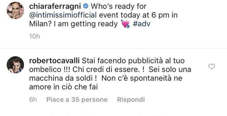 Roberto Cavalli Ferragni