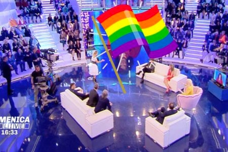 domenica live gay outing diretta coming out barbara
