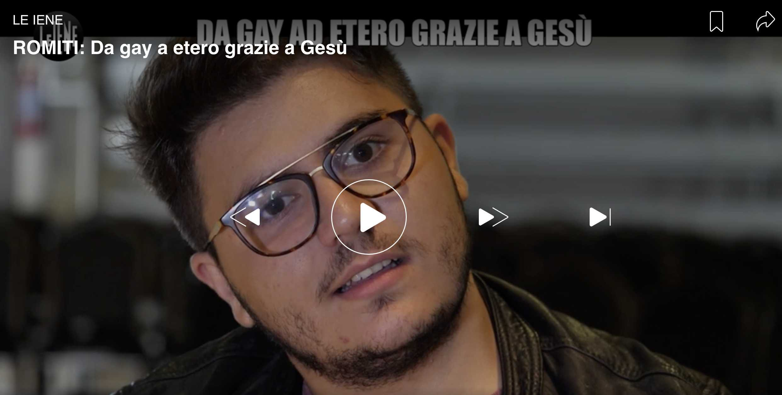 ex gay le iene video alessandro