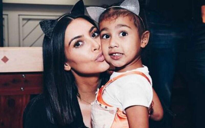 kim kardashian photoshopped north west social