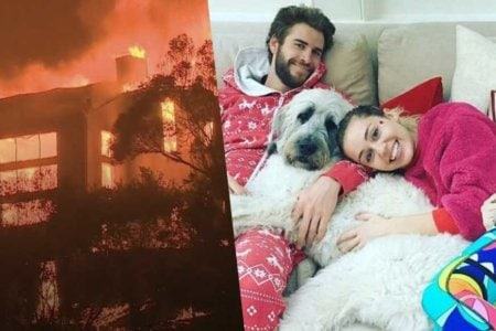 miley cyrus house brun down liam hemsworth