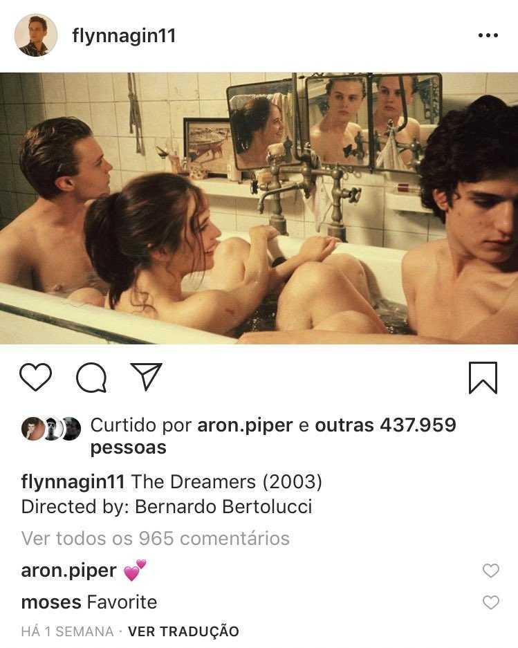 Aron Piper e Brandon Flynn flirtano su Instagram 2