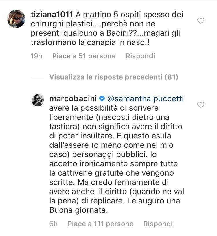 Federica Panicucci Marco Bacini