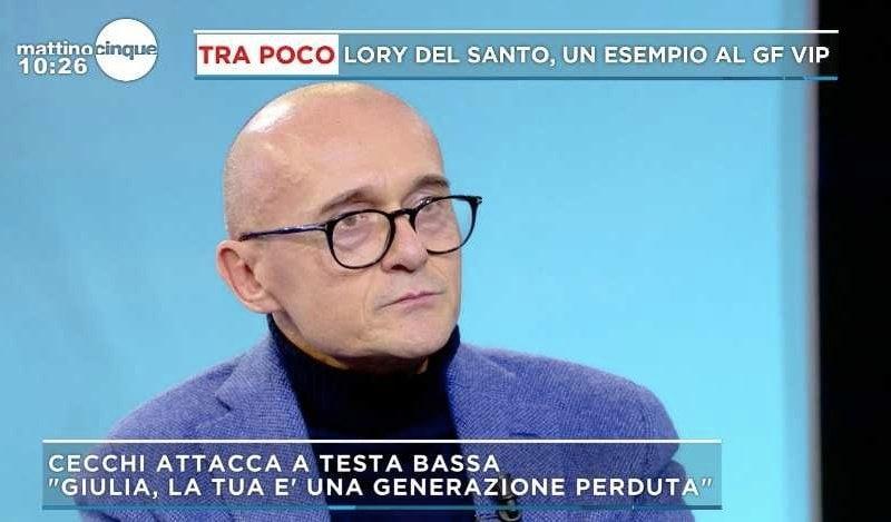 Mattino Cinque Alfonso SIgnorini