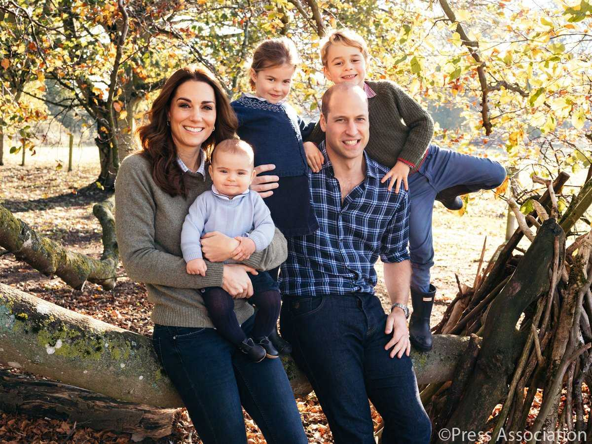 Royal Family Christmas Card 3