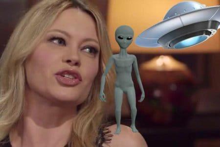 anna falchi ufo alieni extraterrestri