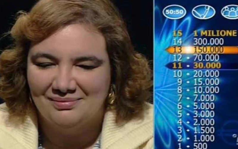 michela de paoli milionario vincita