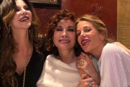 Alba Parietti Alda D'Eusanio e Alessia Marcuzzi
