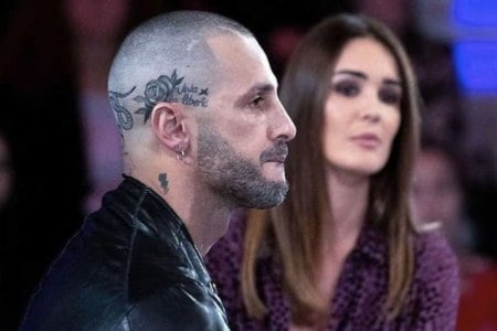 Fabrizio Corona Tatuaggi Testa