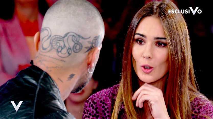 Fabrizio Corona tatuaggio testa
