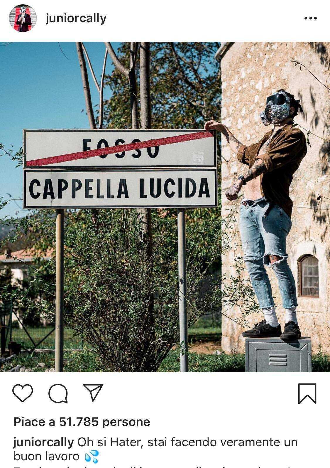 Junior Cally Instagram 3