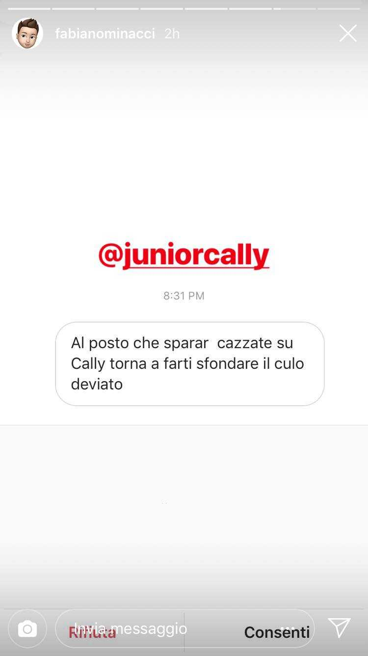 Junior Cally Omofobia