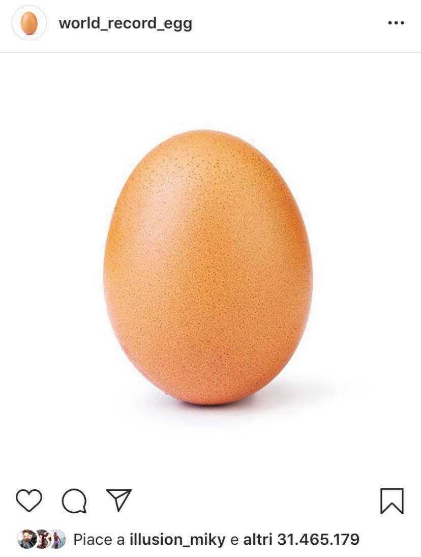 Uovo Instagram