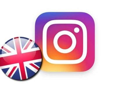 instagram inglese
