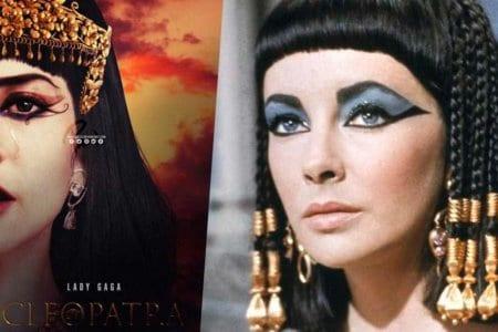 lady gaga angelina jolie cleopatra