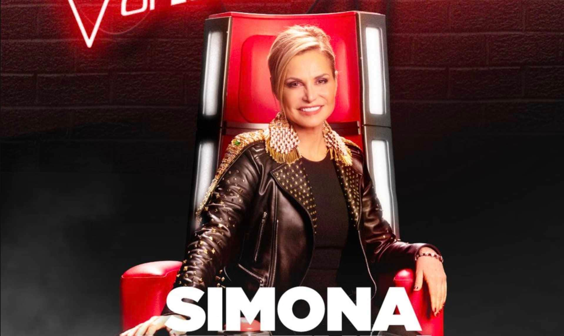 The Voice Of Italy Simona Ventura