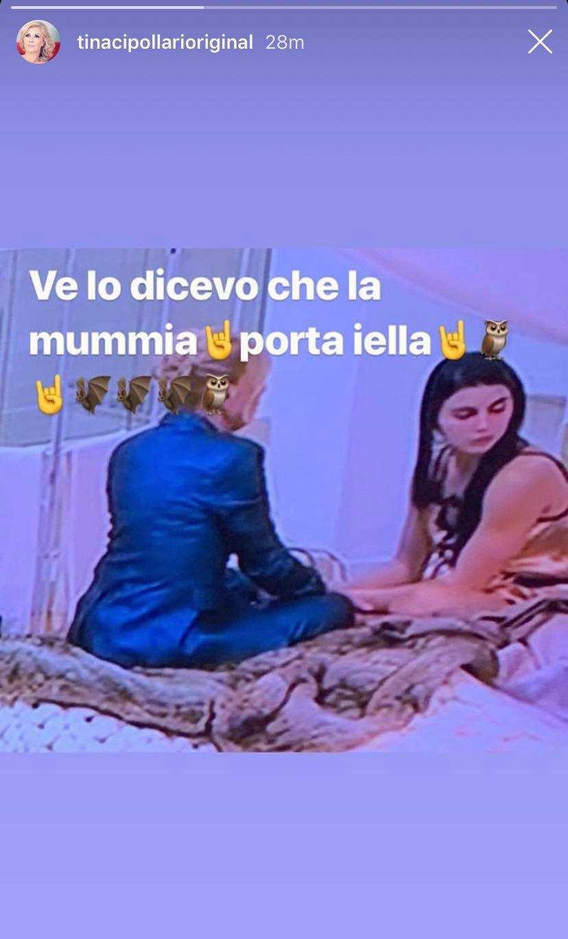 Tina Cipollari Gemma Galgani Iella
