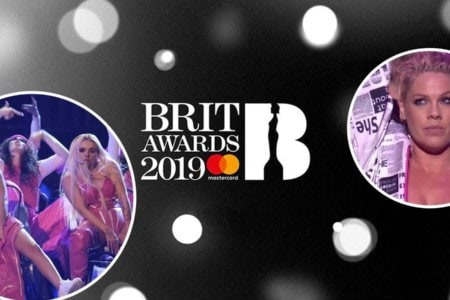 brit awards 2019 o2 arena pink little mix