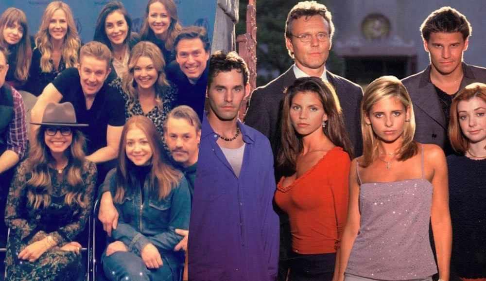 Alyson Hannigan And Alexis Denisof Buffy Buffy l'ammazzavampiri...