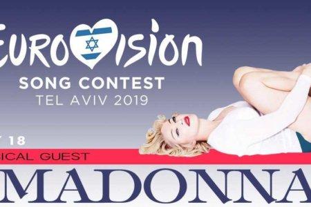 madonna eurovision song contest