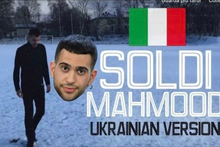 mahmood ukrainan ucraina video versione