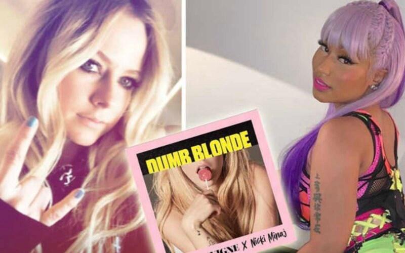 nicki minaj avril lavigne blonde lyrics