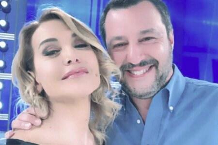 Barbara d'Urso Matteo Salvini