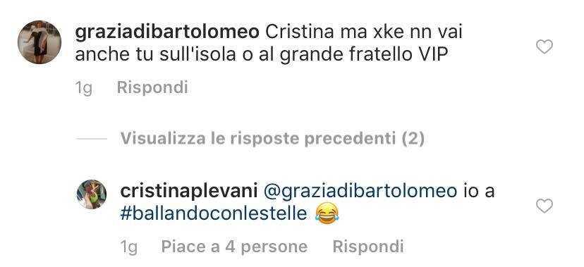 Cristina Plevani Ballando con le Stelle