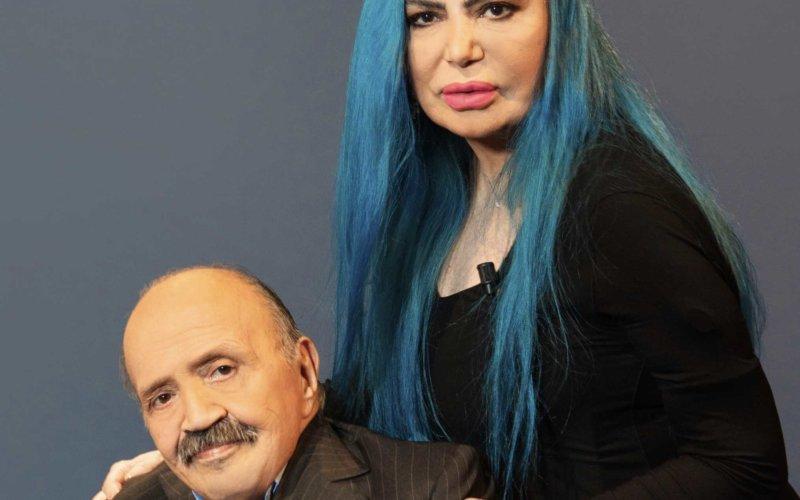 Maurizio Costanzo e Loredana Bertè