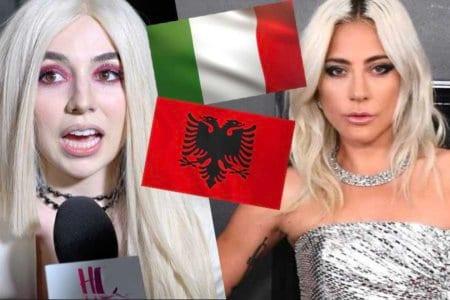 ava max albanian italian lady gaga
