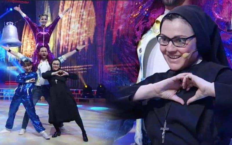 Risultati immagini per suora che balla in tv